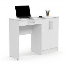 Escrivaninha Mesa Para Estudos Space Patrimar Branco