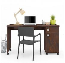 Mesa Para Computador Office Malta Lukaliam Noce