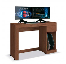 Mesa Gamer Para Computador Office Athena EDN Naturale