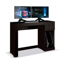 Mesa Gamer Para Computador Office Athena EDN Preto