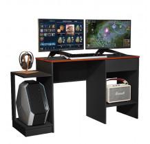 Mesa Para Computador Gamer 6099 JB Bechara Preto/Vermelho