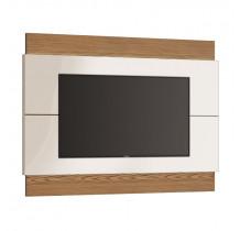 Painel Classic 1.4 Para TV Até 50 Polegadas Imcal - Off White/Freijó