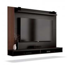 Painel Para TV até 50 Polegadas Dijon EDN Preto/Naturale