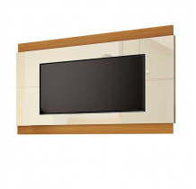 Painel Para TV até 75 Polegadas Legacy 2.0 EDN Off White/Cedro