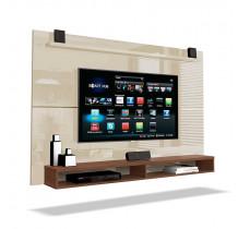 Painel Suspenso Para TV até 65 Pol Max 1.8 EDN Off White/Naturale