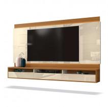 Painel Suspenso Para TV até 75 Pol Savoy 2.0 EDN Off White/Cedro
