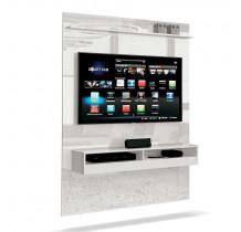 Painel Suspenso Pequeno Para TV até 50 Pol Torino EDN Branco