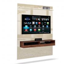 Painel Suspenso Pequeno Para TV até 50 Pol Torino EDN Off White/Naturale