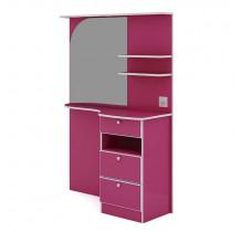 Penteadeira Caramarim Com LED Hera Gelius Pink Plock