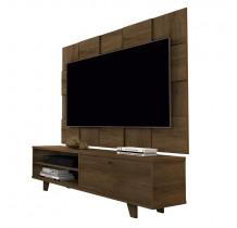Rack 5959 Com Painel 5095 Para TV Até 55 JB Bechara Canela