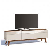 Rack Classic 3G 1.8 Para TV até 65 Polegadas Imcal - Off White/Freijó