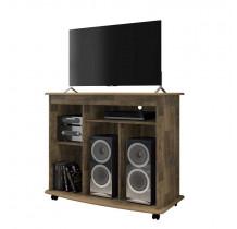 Rack Pequeno Para TV até 32 Madri RV Móveis Amadeirado