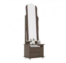 Toucador 2 Gavetas e Espelho Articulado Magic Patrimar Imbuia